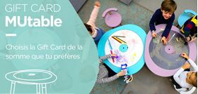 Gift Card pour MUtable